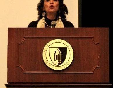 Activist Speaks Native American Rights At CCSU