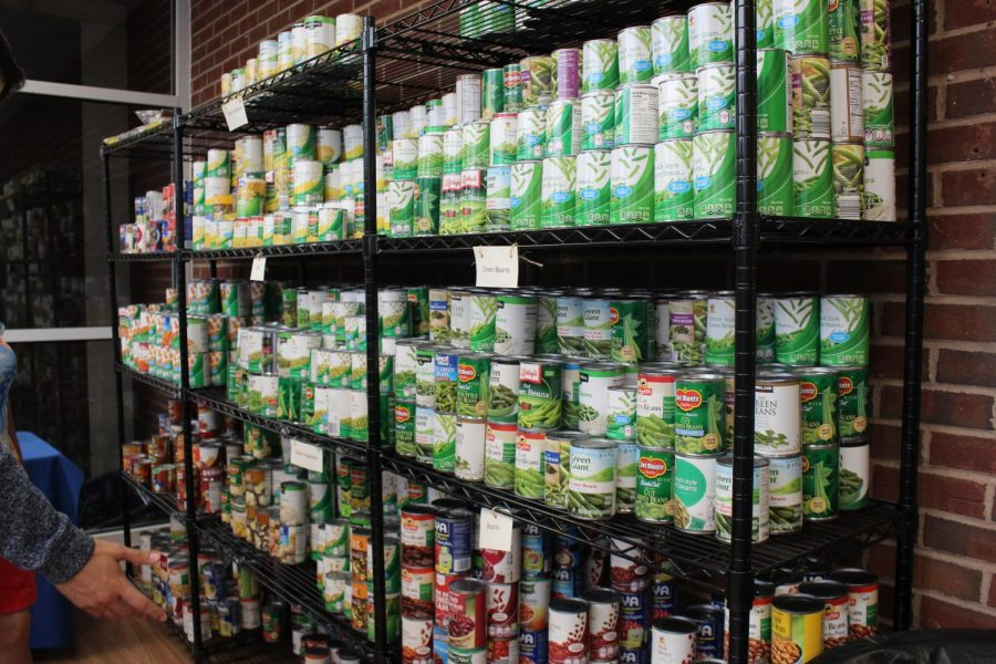 CCSU food pantry Maria's Place, where Competition for a Cause donations went, provides food to students in need.