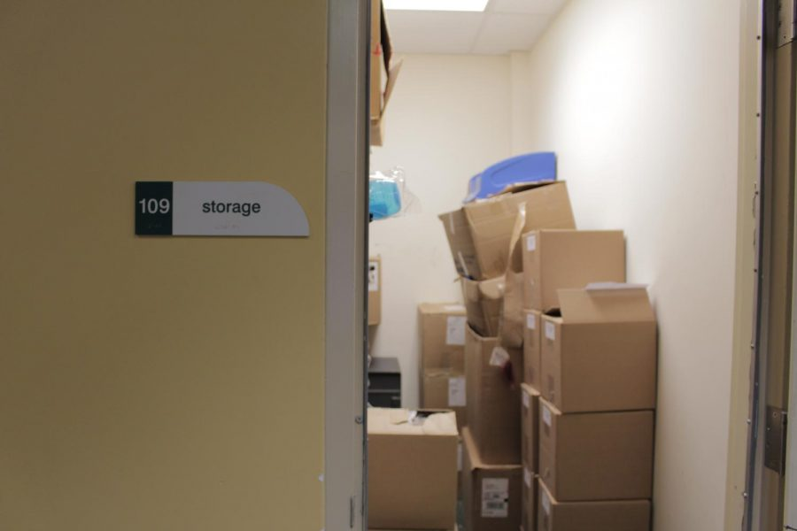 The SGA is seeking additional storage space for clubs.