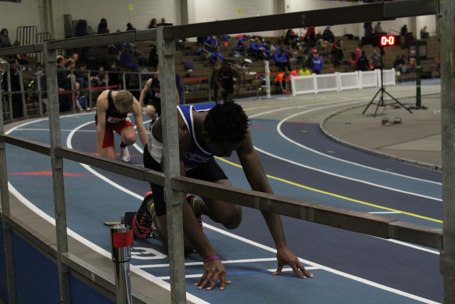 Four Blue Devils qualified for the upcoming IC4A/ECAC Championships on Sunday.