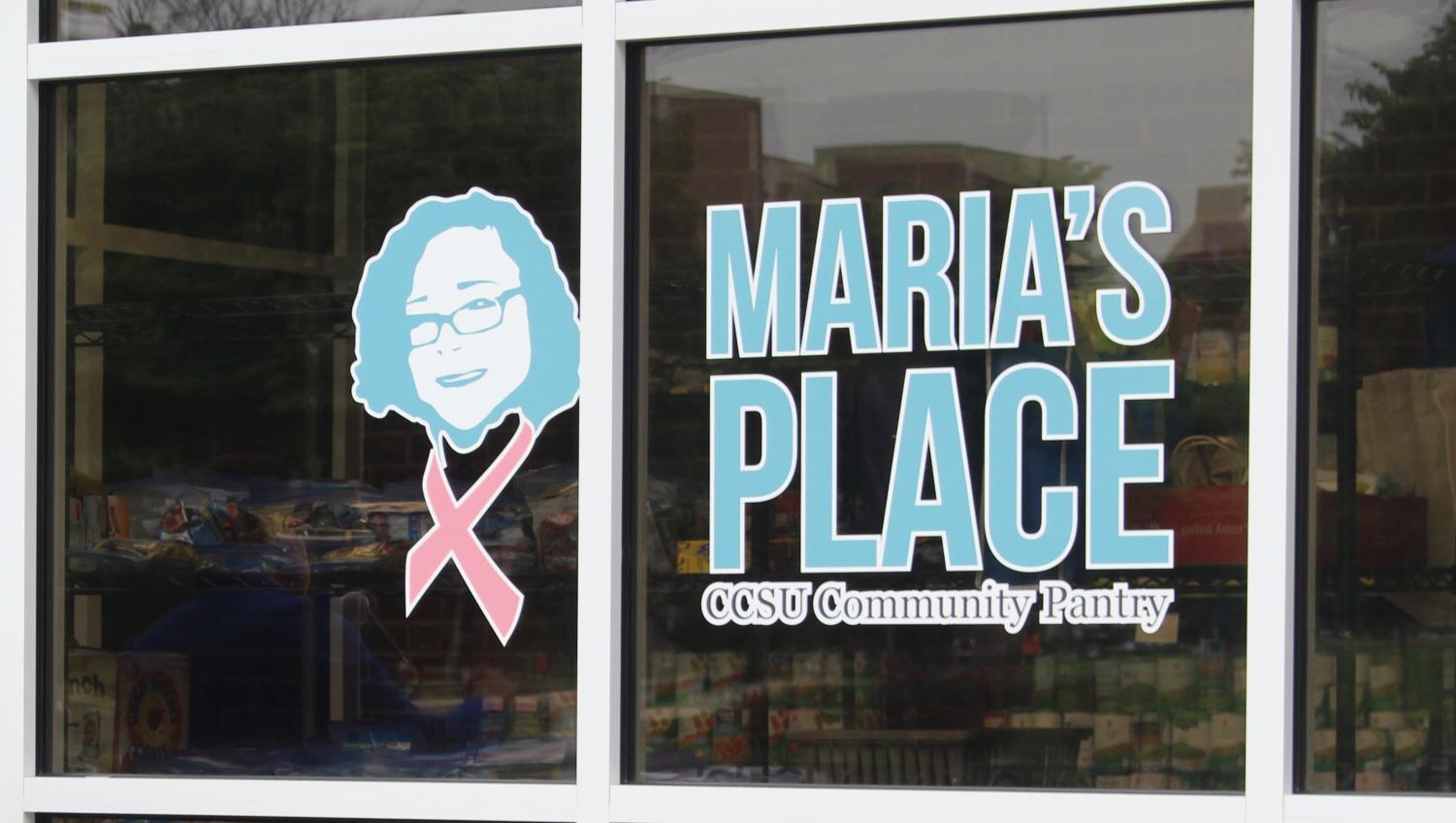 Maria's Place, CCSU's community food pantry, reopening last semester helps combat growing on-campus hunger.