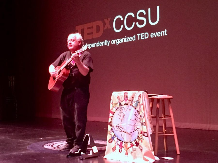 TedxCCSU is speakers carried an inspirational theme of dreams and goals.