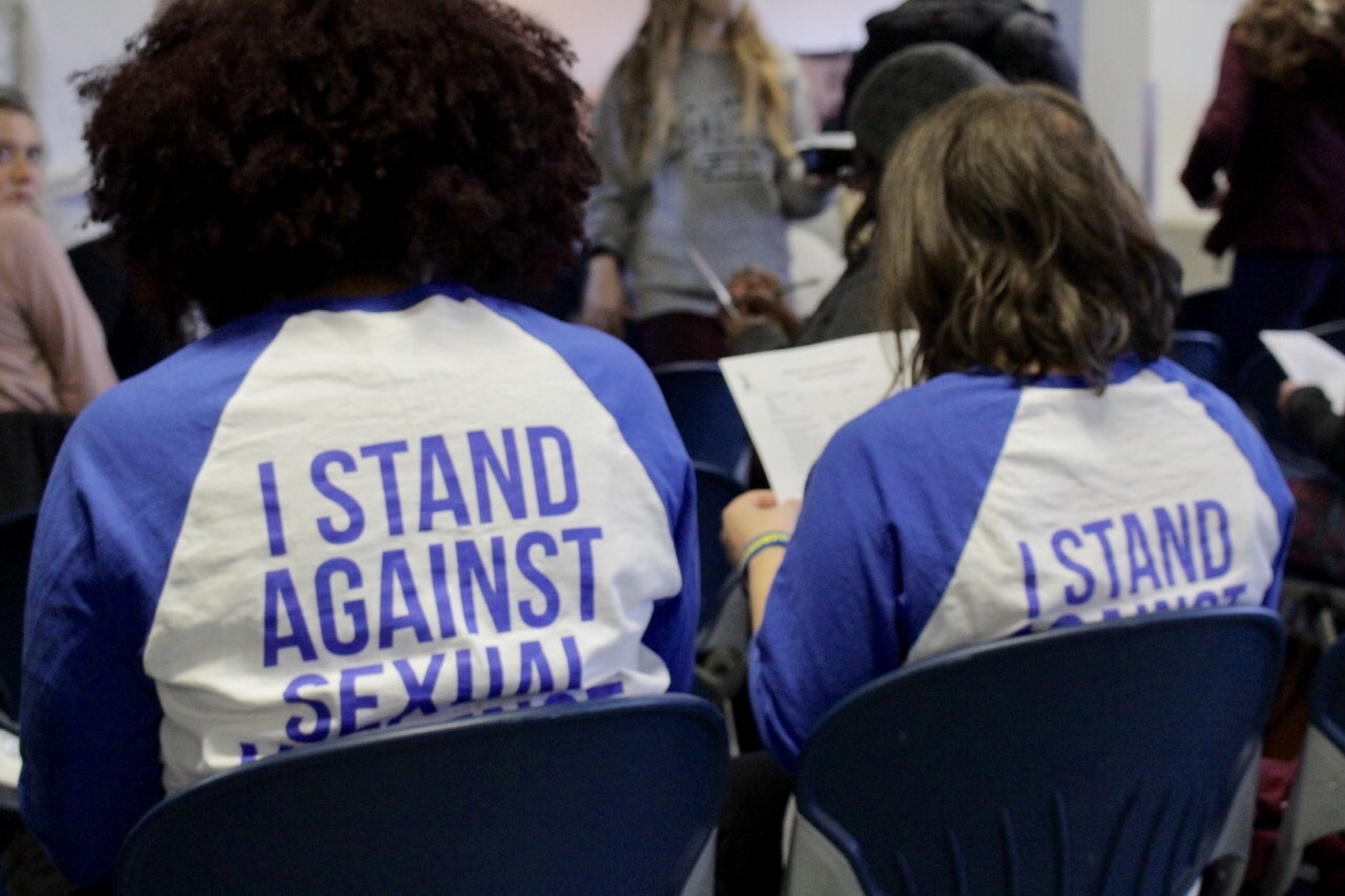 The+event+gave+sexual+assault+survivors+and+bystanders+a+safe+space+to+share+their+stories.