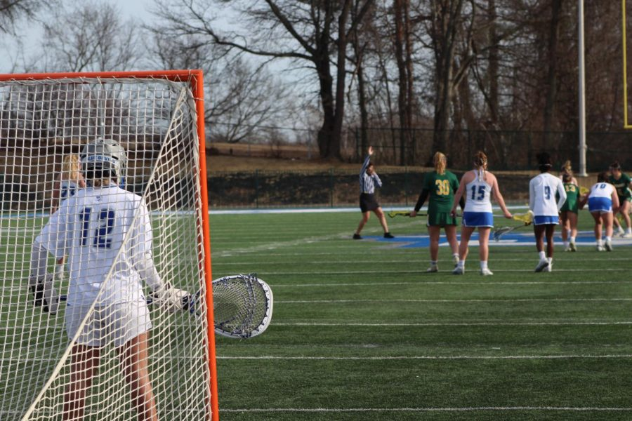 Jackie Branthover has made 558 saves in four years as a Blue Devil.