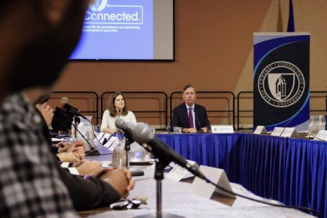 Government Forum Looks to The Future of College Students