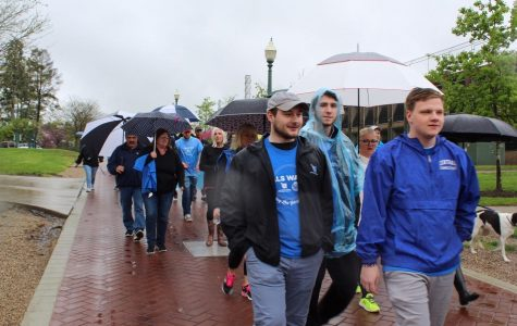 Despite Rain, ALS Walk Carries On