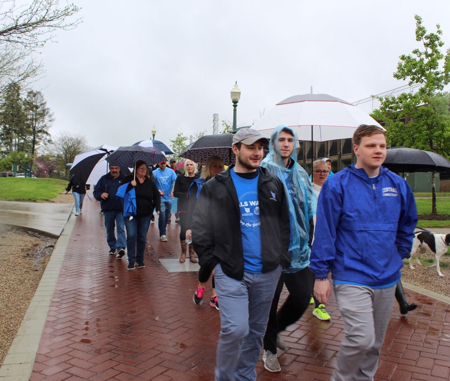Phi+Delta+Theta+and+the+SGA+continued+their+tradition+Sunday+of+hosting+an+annual+ALS+Walk.