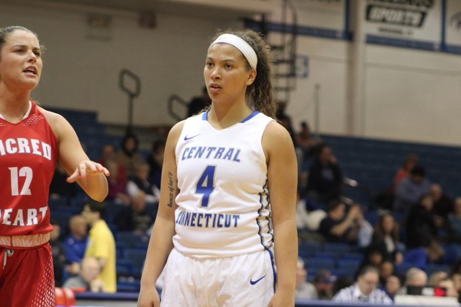 Patterson graduates as the third leading scorer in CCSU history.