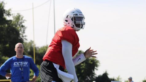 After transferring from Georgia State University, Aaron Winchester takes the role of QB1 for the Blue Devils.