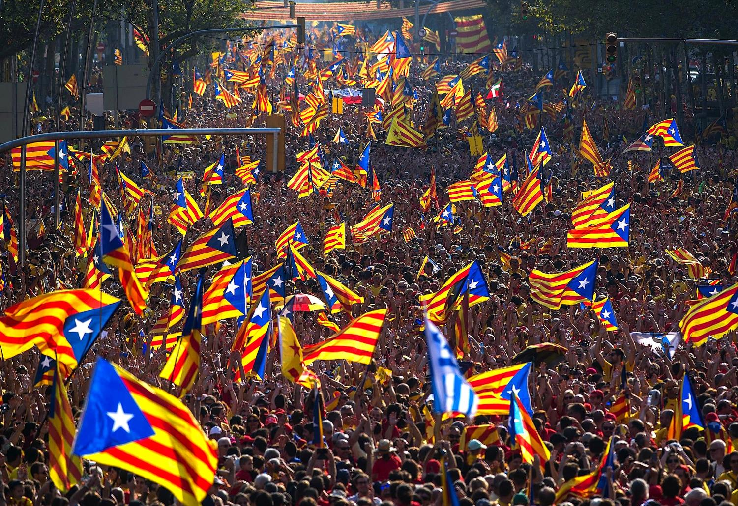 Catalonia continues to fight for the independence and for their people.