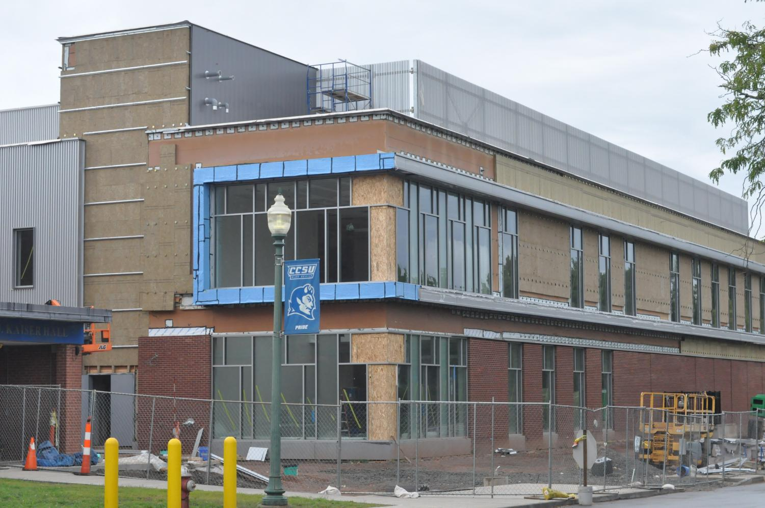 The former Bubble is being transformed into a new, state-of-art recreation center.