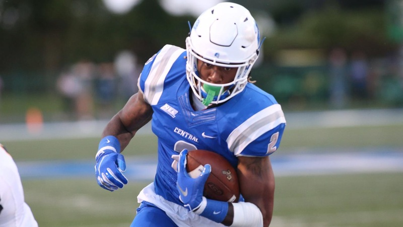 Tyshaun James racked up 151 total yards against FBS opponent Eastern Michigan, earning NEC Co-Offensive player of the week honors.