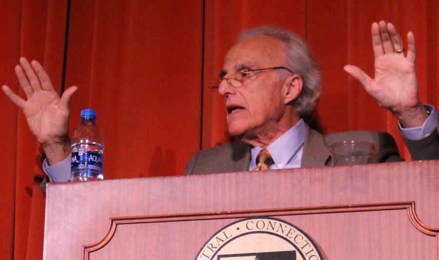 Speaker John Espito gave a lecture on Trump-era islamophobia last Thursday.