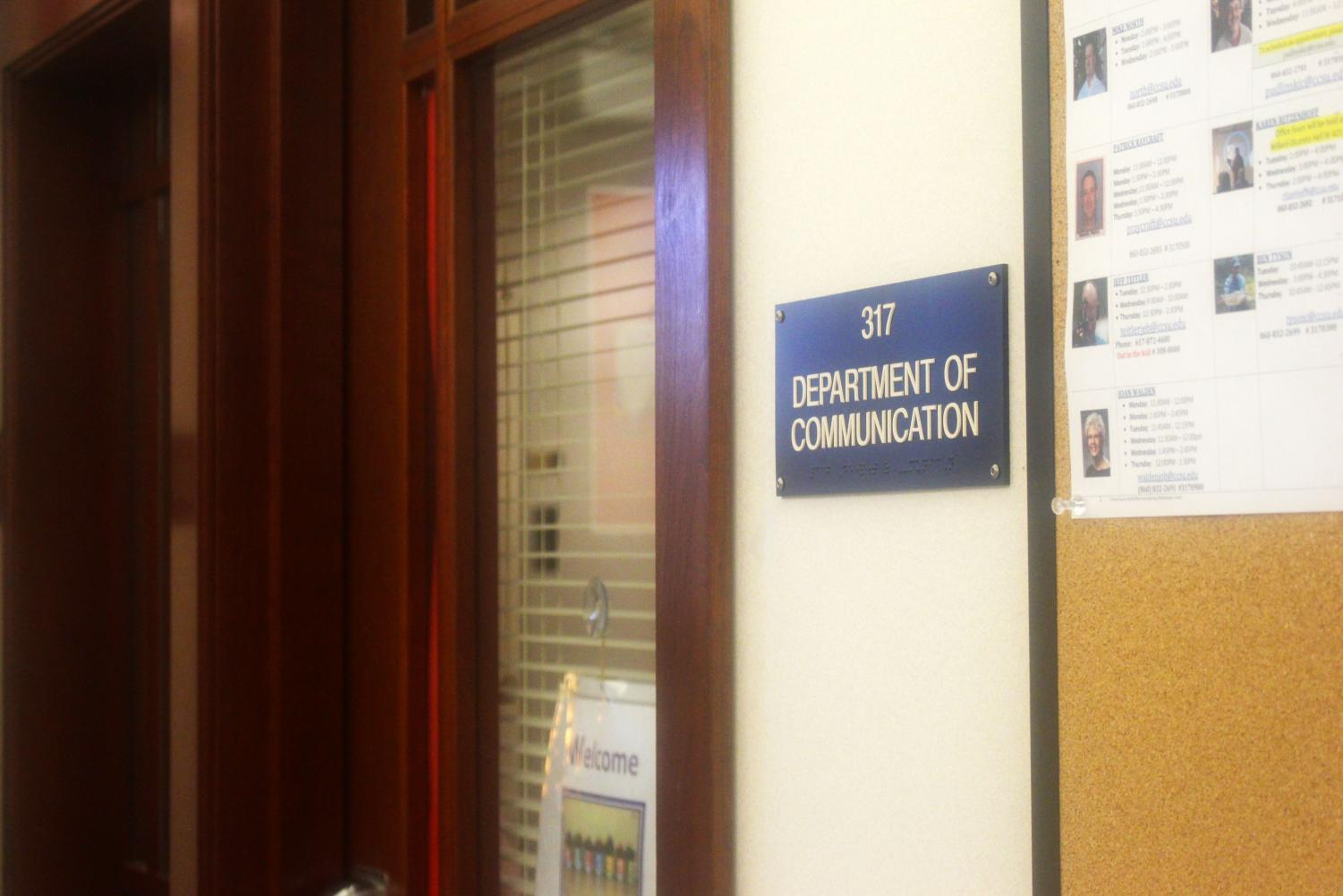 Within the Communication Department, there are different views on how the department should function.