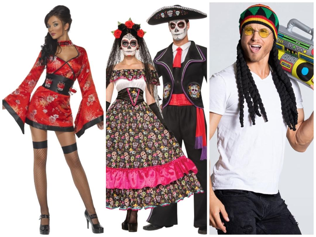 Stereotypes of various cultures becoming sexualized or goofy has become common for Halloween costumes.