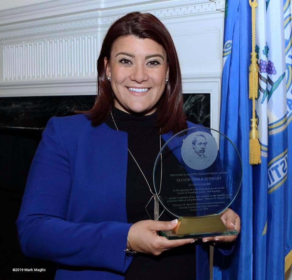 Mayor Erin Stewart, CCSU Alum, has been in office since 2013.