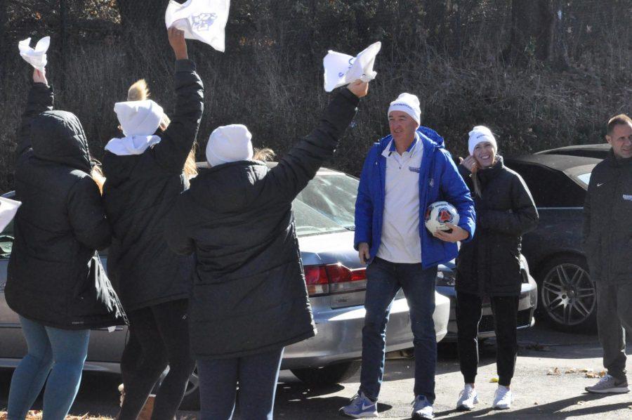 Mick & his cheerleaders