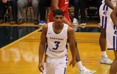 Career Nights Lead Men's Basketball To First Conference Victory
