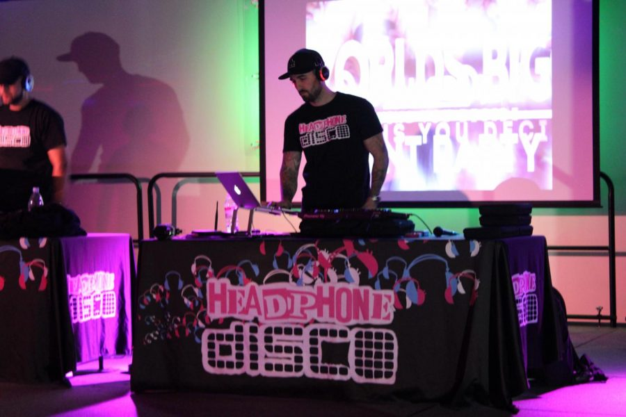 Dueling DJs competed for listeners at