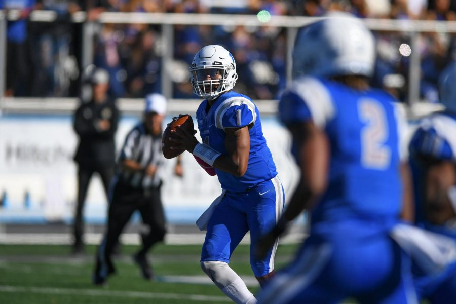 Aaron Winchester looks to be the second Central quarterback to go pro in two years.