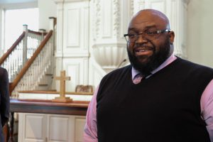 Former Director of Student Conduct has looked to his faith for support and spiritual guidance.