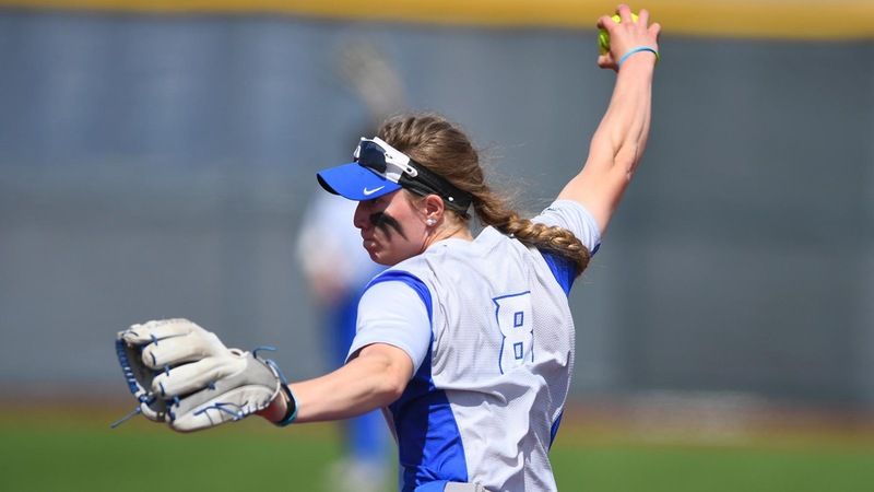 Softball defeated Rider 4-1 for their first victory of the season.