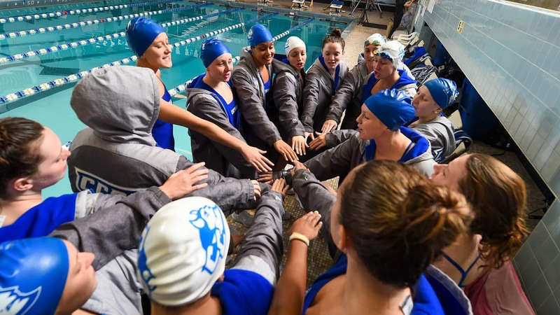CCSU finished second overall with 586 total points at the NEC Championships.