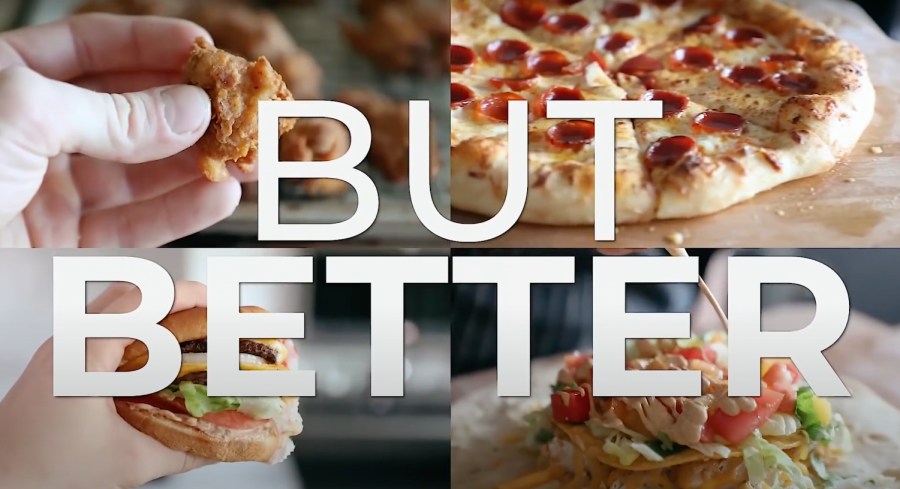 Joshua Weissman's YouTube series recreates fast food but makes them, well, better.