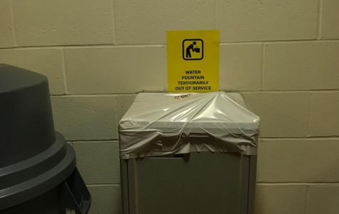 Water fountains are temporarily closed throughout campus.