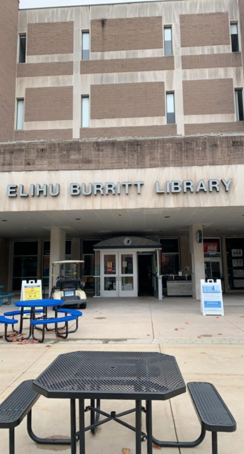 Since the beginning of the fall 2020 semester, Elihu Burritt Library has taken on new precautions to prevent disease spreading.