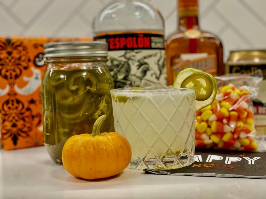 Spooky Spicy Margarita