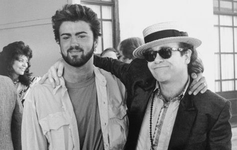 George Michael and Elton John