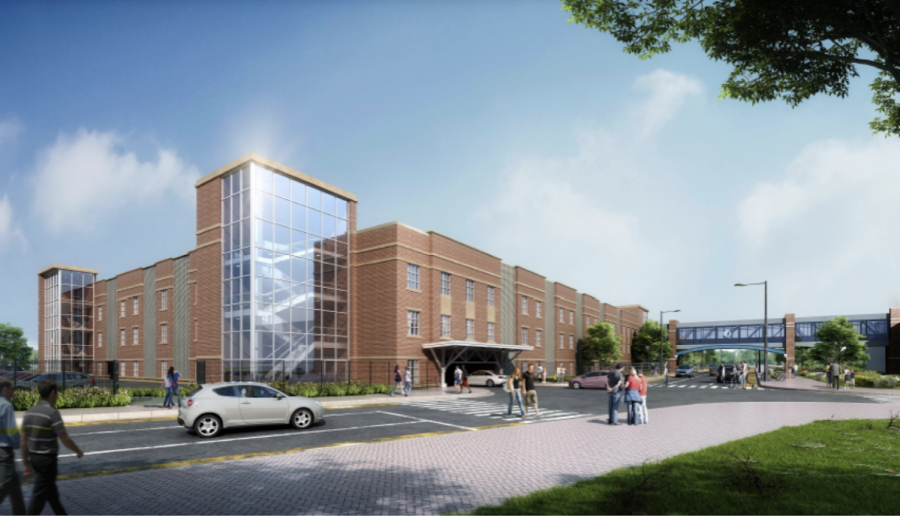 Willard-DiLoreto Garage is estimated to be complete by winter 2021.