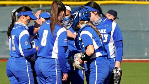 CCSU homered six times against the Mount this weekend.